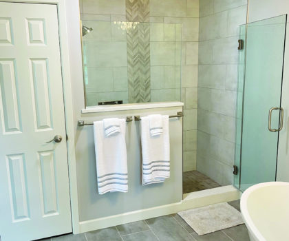 If your  bathroom played out, the team at Acclaim Renovation & Design can cast a new lead