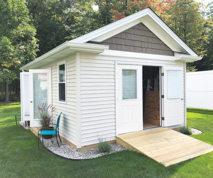 Acclaim Renovations & Design is bringing on the she shed