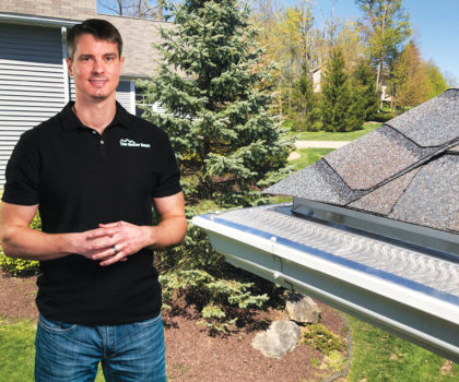 Cover your gutters this spring and never worry about cleaning them again