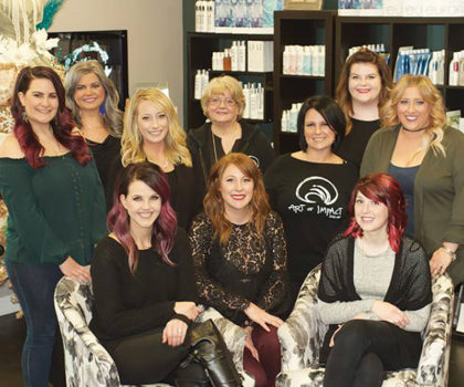 At Art of Impact Salon, it's all about leading edge services for hair