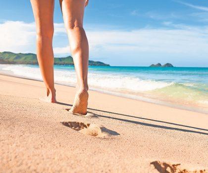 Leg swelling worse in summer