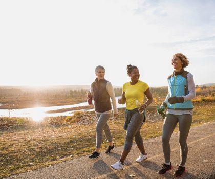 Walk to reduce leg swelling