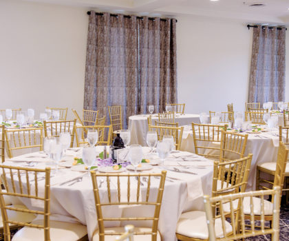 Blue Heron Event Center in Medina is quickly becoming known as a wedding and event venue that promises to transport your group beyond the ordinary
