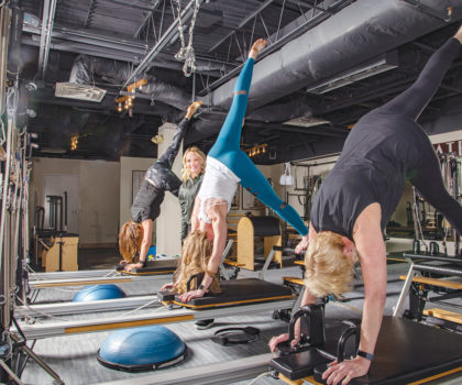 At Stacey DeGenaro's Barre Pose Studio Pure Flow, clients are connecting with their bodies through Pilates and Barre classes