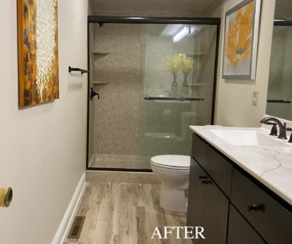 Bath R Us can transform your bathroom space quickly, professionally, and affordably
