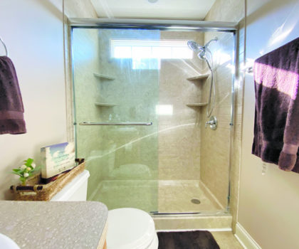 In less than a week and for a fraction of the price, you could be luxuriating in a Bath R Us bathroom makeover