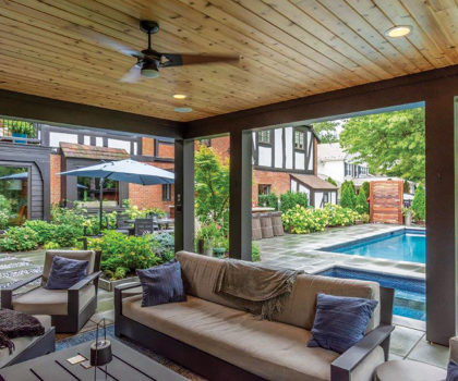 Homeowners who relax and take their time in designing a new outdoor living space enjoy the process and are more satisfied with the finished project