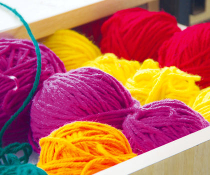 Knitting for Cancer is helping cancer patients with wearable comfort and care of hand-knit hats and blankets