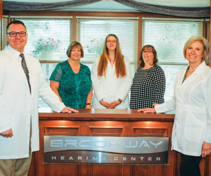 Brookway Hearing Center is where customers become friends