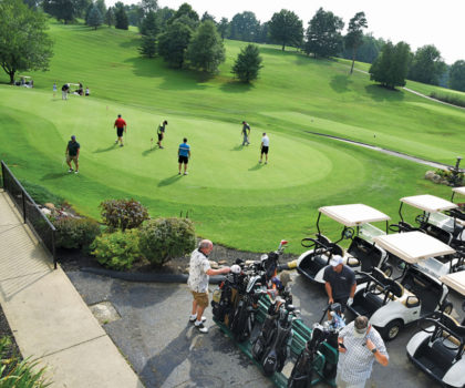 Take a swing at the Bunker Hill Golf Course hundred-dollar unlimited golf special