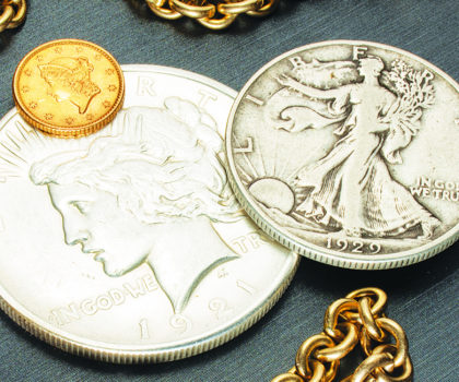 Coins can be valuable, explains owner Cara Reider at Chagrin Gold & Coins