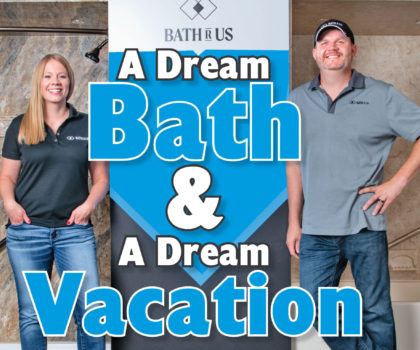 See how to get a dream bath and a dream vacation with Bath R Us