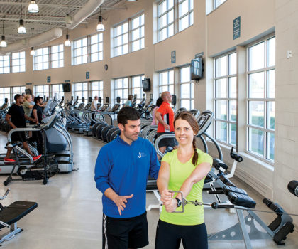 Here's how Mandel JCC helps our entire community—including you—get in shape and stay in shape