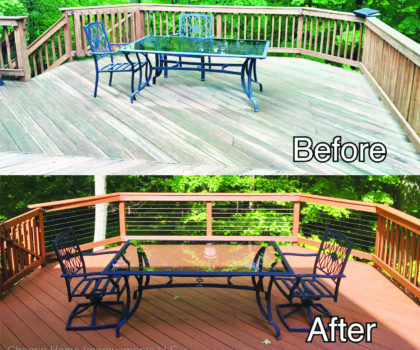 Chagrin Home Improvements can transform your outdoor living spaces