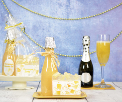 Mix the spirited fragrance of champagne into your next Handmade Studio project