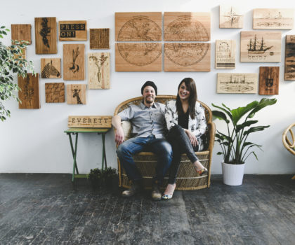 Meet the Artist: Chelsey & Trevor Cain, Citizen Woodshop