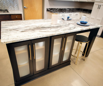 You can begin to put your tax refund to work by visiting the fabulous Choice Cabinet showroom, where the company's design team is eager to create your spectacular kitchen