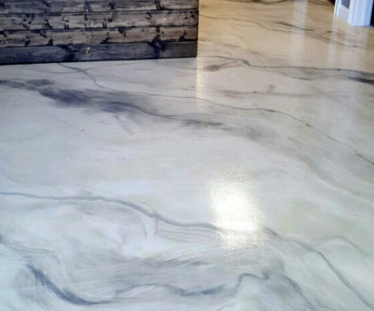 Cutting Edge Decorative Concrete offers  epoxy solutions for repairing and covering concrete flooring