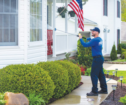 Power washing is a task best left to professionals like Perfect Power Wash