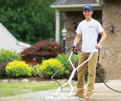 The Pristine Clean team: Northeast Ohio's concrete protection experts