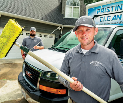 Here's how Pristine Clean can clean and protect your siding, roof and concrete with the biggest discount of the season
