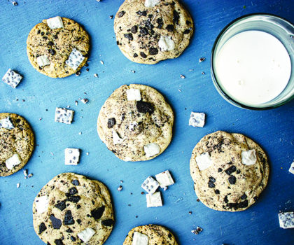 The Starving Chef Recipe: Cookies 'n' Cream Cookies