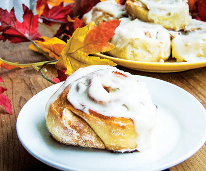The Starving Chef Recipe: Cinnamon Rolls