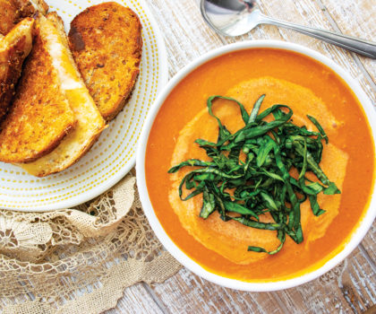 The Starving Chef Recipe: Creamy Tomato Soup