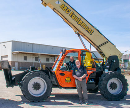 ABC Equipment Rental & Sales is helping local contractors get more work done in less time