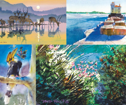 Meet the Artist: David Rankin, David Rankin Watercolors