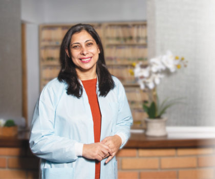 With Dr. Sanam Magrey at the helm at Dental Care of Brunswick, patients can expect even more technology in their dental care