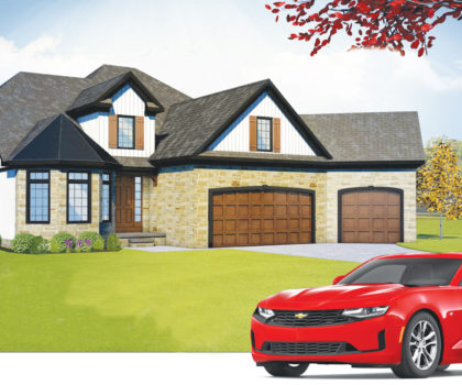 Dream House 2019 Image With Car And Name No Logo