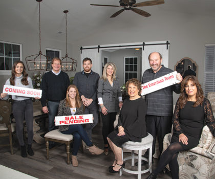 The Emerman Team at Keller Williams has made a name for itself by catering to clients, making the home buying or selling approach perfectly personal