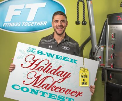 Transform your look before the holidays by entering Fitness Together Bay's 8-Week Holiday Makeover Contest