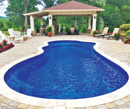 Creating a custom pool with Candyapple Nursery & Landscaping