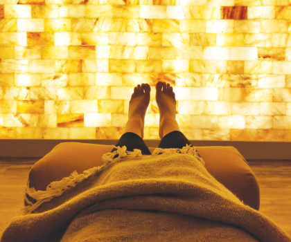 Salt therapy for lung health