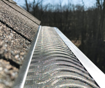 With Valor Gutter Guards from The Gutter Boys, the water keeps flowing