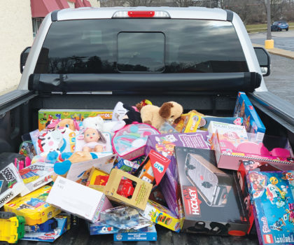 Giving back: The second annual toy drive at Floorz