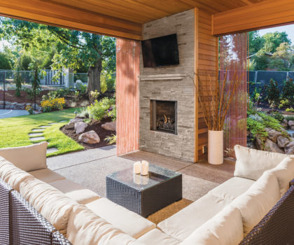 Here's why Acclaim Renovations & Design says creating the perfect outdoor space is on trend for 2021