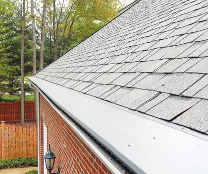 The Gutter Cover Company's Gutter Topper offers total  gutter protection, without the holes