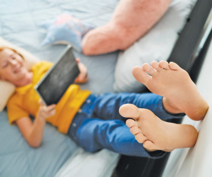Finesse Footcare says every parent should be on their toes when it comes to kids and foot health
