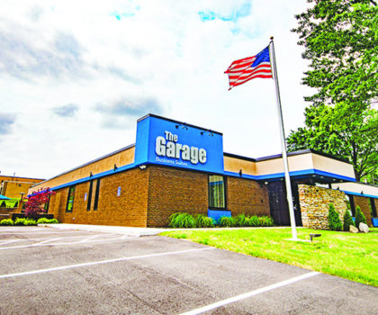The Garage Business Suites and Meeting Center in Akron takes the co-working concept to the next level