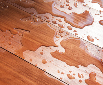 Waterproof hardwood is an emerging trend in flooring, now available at Floorz
