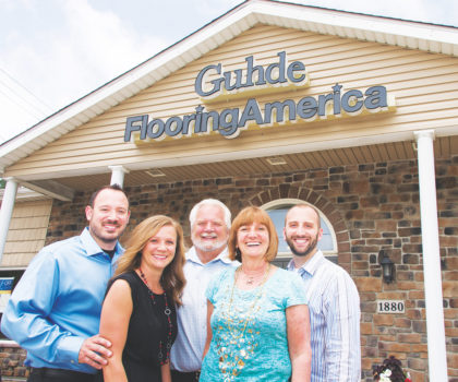 Celebrating 70 years of business with the Guhde family