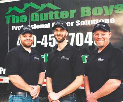 "How The Gutter Boys sells gutters...without actually ""selling"""