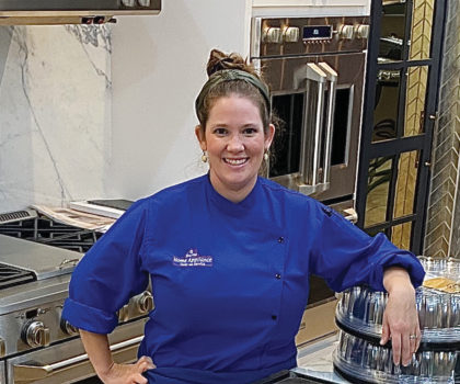 Attend any class held by Chef Brittany Reilly, of Home Appliance Sales and Service, and you will never look at your range the same way again