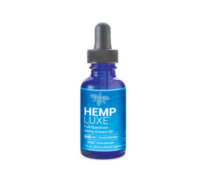 Hemp Luxe Oil