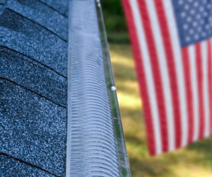 Cover your gutters before fall