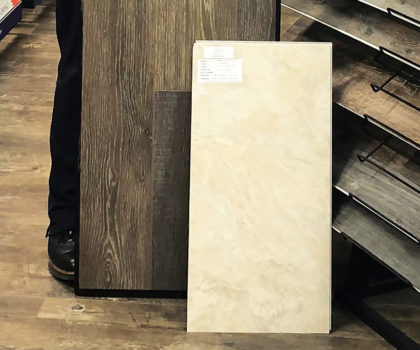 Vinyl plank flooring is topping most customer lists