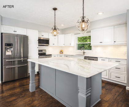 Jason Hicks' American Wood Reface does fast, high-quality kitchen transformations...for less
